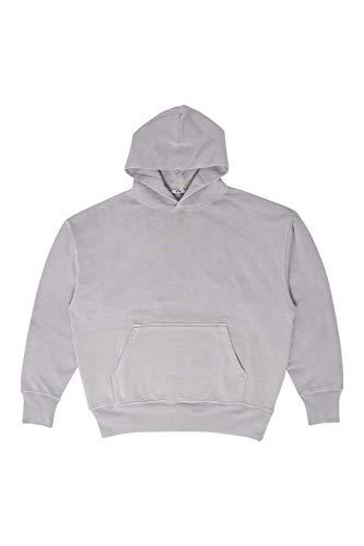 eYe Hooded Sweatshirt (Heavyweight Combed Cotton) (Gray, Large)