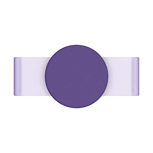 PopSockets PopSlide - PopGrip Non Adesiva per le Custodie in Silicone iPhone 11 - Fierce Violet