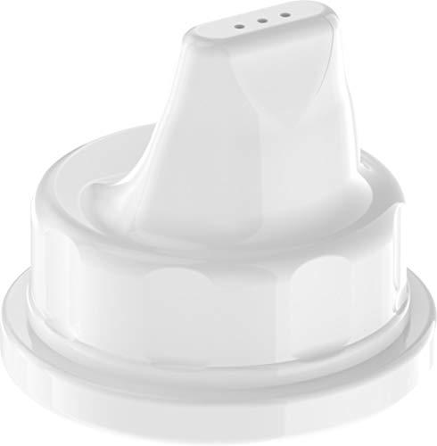 Lifefactory Sippy Caps für Glastrinkflaschen (120ml & 250ml), 2er Set, white