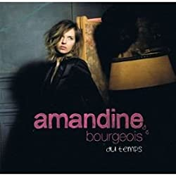 Du Temps - CD Single PROMO 1 Track Card Sleeve - Amandine BOURGEOIS