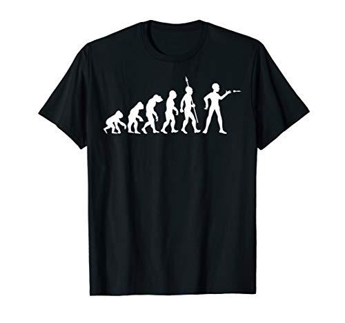 Darten Dart Evolution Fun Sport Dartsport Dartpfeile Lustig T-Shirt
