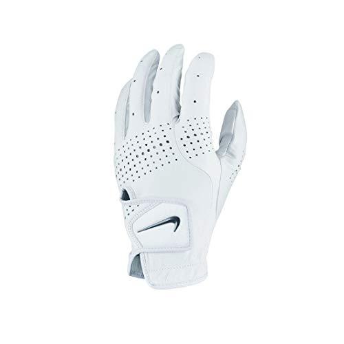 Nike Tour Classic III Regular Left Hand Golf Gloves Pearl White/Pearl White/Black MD