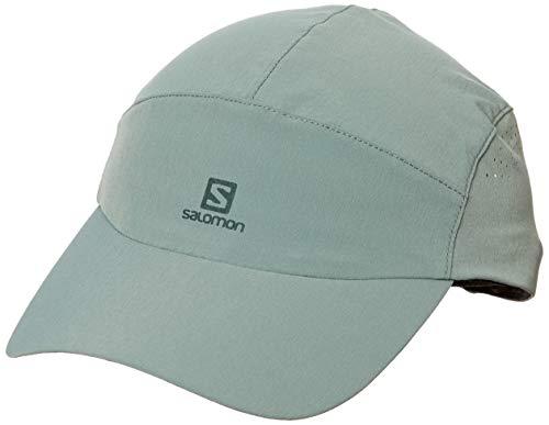 [サロモン] アウトドア キャップ Softshell Cap (ソフトシェル キャップ) BALSAM GREEN OSFA (FREE サイズ)