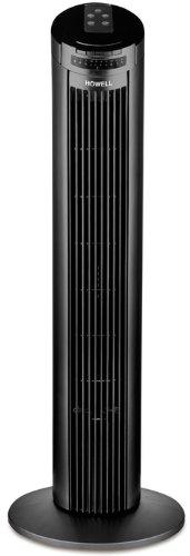 Howell VETT765R Ventilatore a Torre con Telecomando, Nero, 76 cm