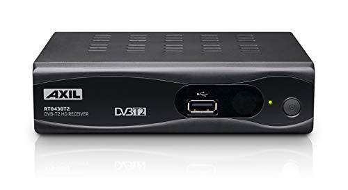 Receptor DVB-TD (TDT2) HD grabador, HDMI,Función Timeshift, PVR - Axil TDT RT0430