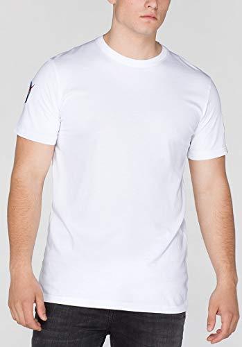 Alpha Industries NASA T-Shirt Weiß M