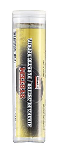 AREXONS 4749 System Ripara Plastica 57 Gr, Stucco in Stick Pronto all'Uso, Riparare, ricostruire e sigillare, Forte, Facile e rapido, Adatto a superfici bagnate