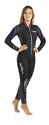 Cressi Bahia Flex 3mm Lady, Black/Lilac, S