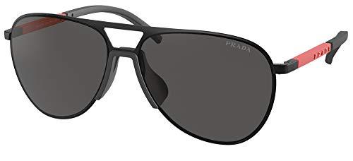 Prada Occhiali da Sole Linea Rossa LINEA ROSSA SPS 51X Matte Grey/Grey 59/15/145 uomo
