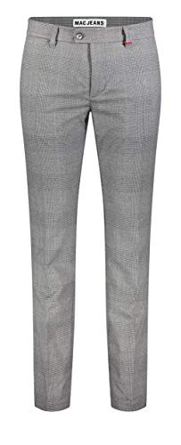 MAC Jeans Herren Hose Lennox Lennox Ceramica Wool Look 31/32