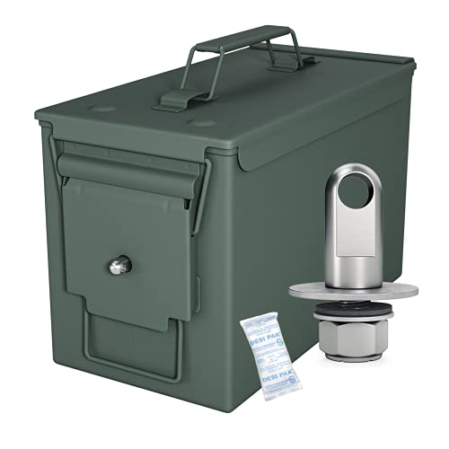 Solid Tactical 50 Cal Ammo Can with Locking Kit – New...