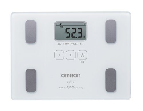 Omron KARADA Scan Body Composition & Scale | HBF-212 White (Japanese Import)