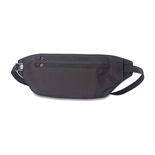 Lifeventure Waterproof Body Wallet Waist L'antivol Unisex-Adult, Black