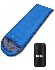 LICLI 寝袋 「丸洗いできる 封筒型 シュラフ 」「 コンパクト 簡単収納 」「 軽量 防水 カビ対策 素材」「 キャンプ アウトドア 防災 用」 約900g