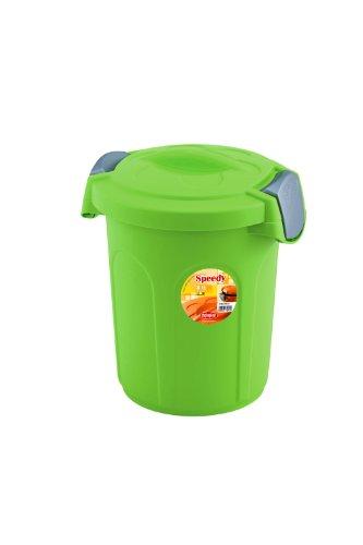 Stefanplast Contenitore salvafreschezza per Cibo per Animali, Verde Mela, cm 24x27x31h