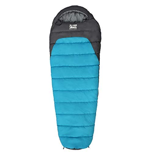 MIS MOUNTAIN INN SPORTS Mummy Sleeping Bag 3 Season Lightweight Compact Sack for Backpacking Camping...