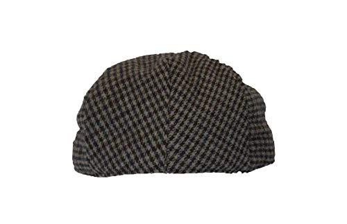 Walker & Hawkes - Uni-Sex Country Wool Flat Cap - Grey - M (58cm)