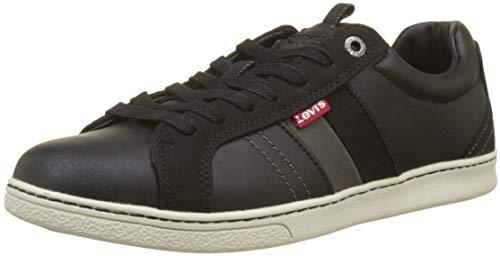 LEVIS FOOTWEAR AND ACCESSORIES Tulare, Sneaker Uomo, Nero (Regular Black 59), 44 EU