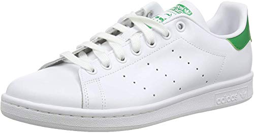 Adidas Originals Stan Smith, Sneaker Basse Unisex – Adulto, Bianco (Running White Ftw/Running White/Fairway), 36 2/3 EU