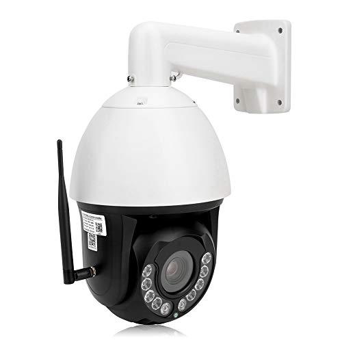 zcyg Cámara Cámara de vigilancia Cámara de Seguridad Cámara De Seguridad, 1080p HD 30x Zoom PTZ WiFi Cámara AI Humanoid Rastreo Night Vision IP66 CAM 100-240V EEUU Plug