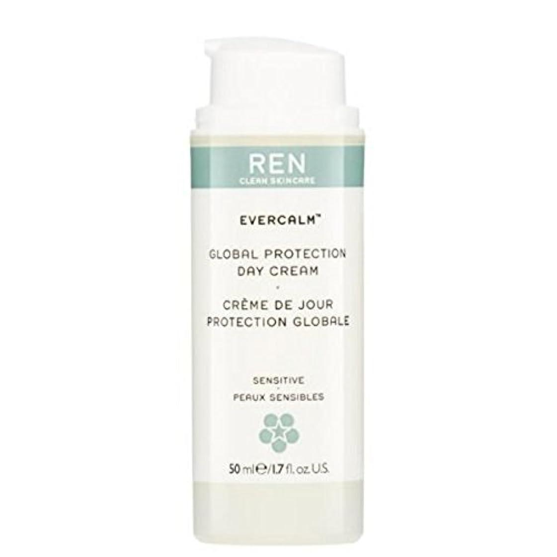 故障誤って批判的にグローバルプロテクションデイクリーム x2 - REN Evercalm Global Protection Day Cream (Pack of 2) [並行輸入品]