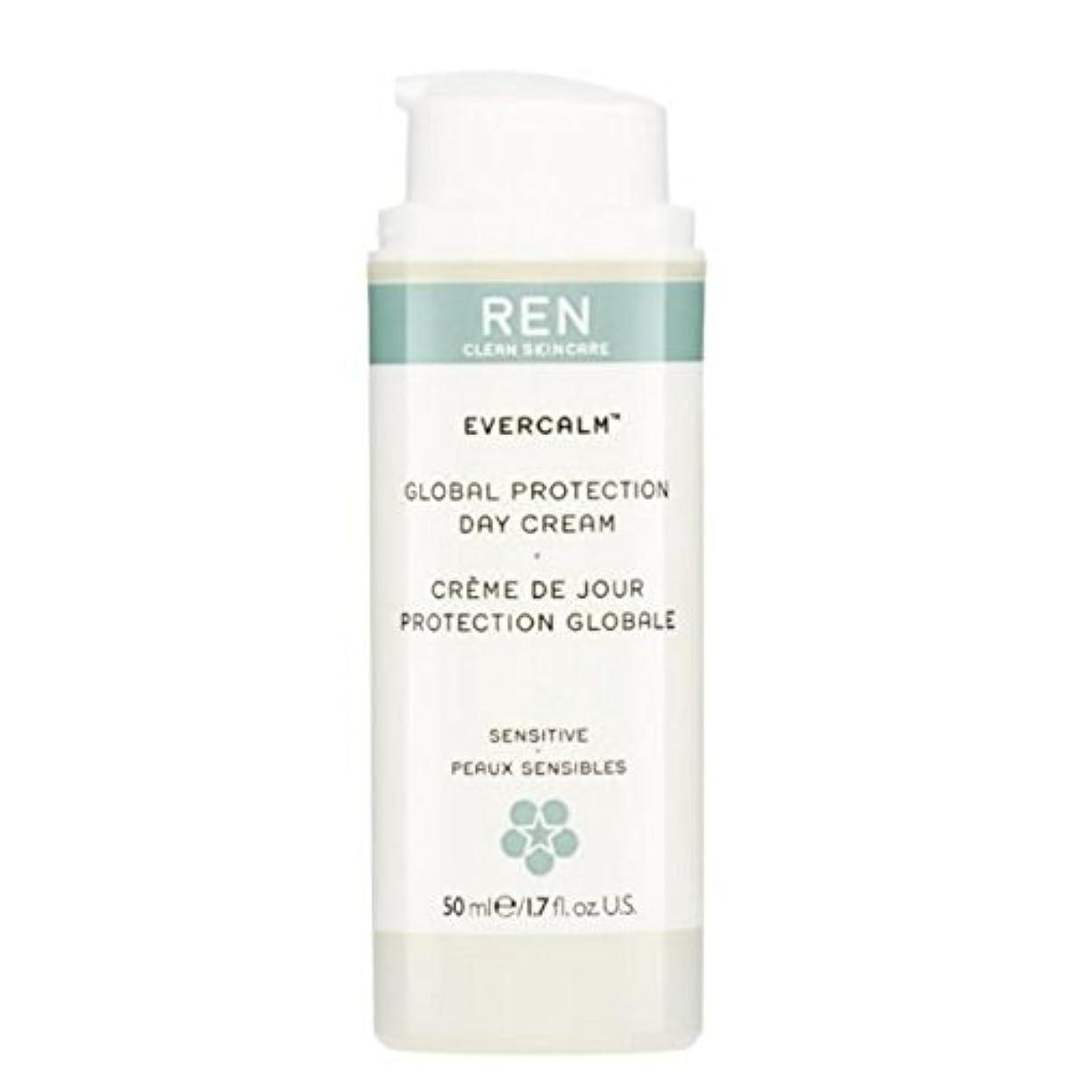 王位クリケット健康的REN Evercalm Global Protection Day Cream - グローバルプロテクションデイクリーム [並行輸入品]