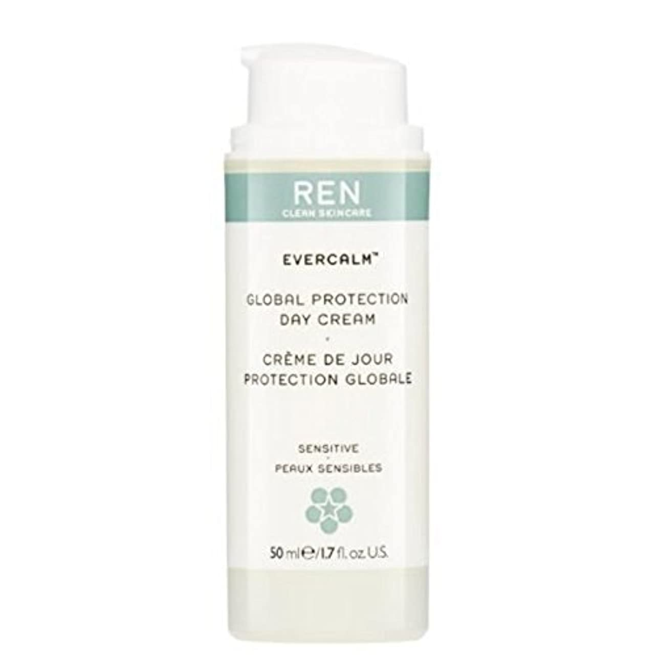アリヒゲ最初はREN Evercalm Global Protection Day Cream - グローバルプロテクションデイクリーム [並行輸入品]