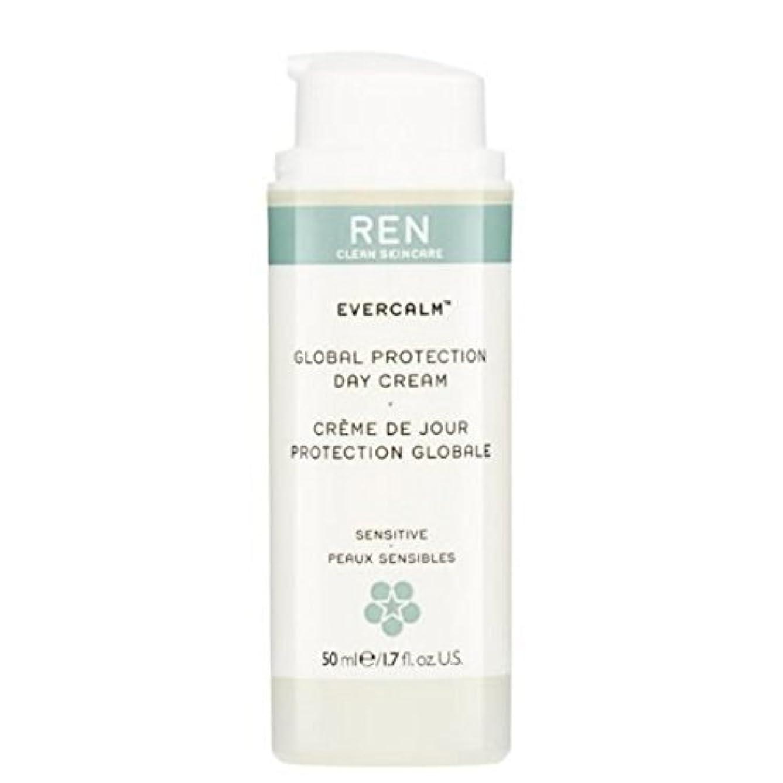 汚す脱走高めるREN Evercalm Global Protection Day Cream - グローバルプロテクションデイクリーム [並行輸入品]