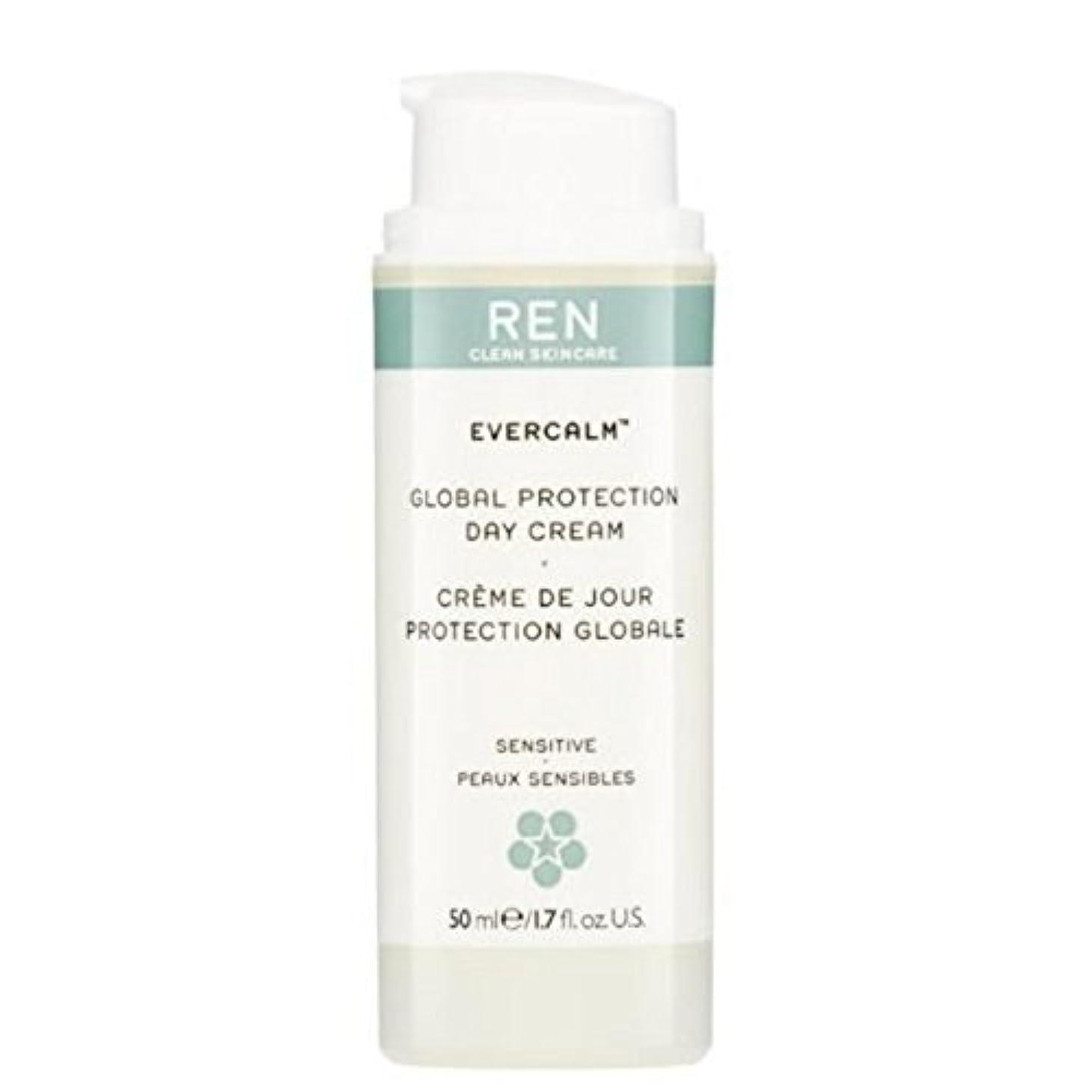 持参ギネス関係するグローバルプロテクションデイクリーム x2 - REN Evercalm Global Protection Day Cream (Pack of 2) [並行輸入品]