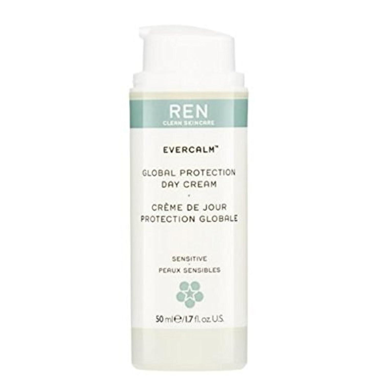 テレビを見る使役到着グローバルプロテクションデイクリーム x2 - REN Evercalm Global Protection Day Cream (Pack of 2) [並行輸入品]