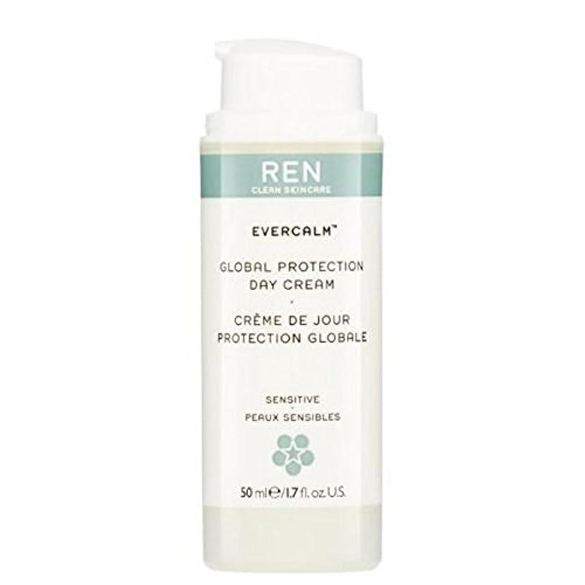 受取人サークル食堂グローバルプロテクションデイクリーム x2 - REN Evercalm Global Protection Day Cream (Pack of 2) [並行輸入品]