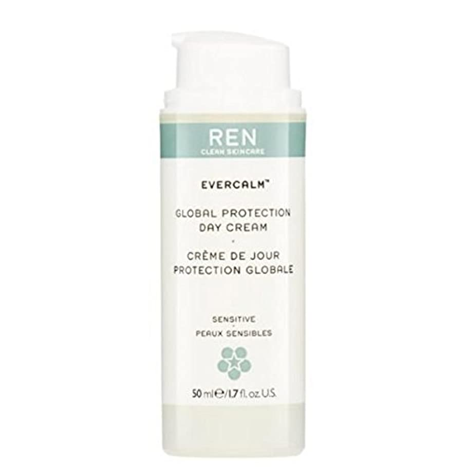 REN Evercalm Global Protection Day Cream (Pack of 6) - グローバルプロテクションデイクリーム x6 [並行輸入品]