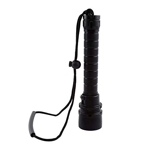 Underwater Light, Anti-Abrasive Scuba Diving Equipment, Waterproof for Diving for Camping