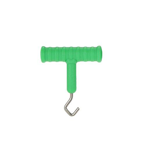 WFZ17 Karpfenangeln Köder Rig Haken Abzieher Knotenwerkzeug Terminal Tackle Zubehör, grün, Einheitsgröße