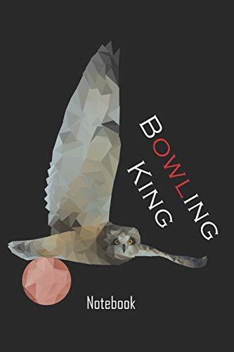Bowling King: Bowling notebook   college book   diary   journal   booklet   memo   110 sheets - ruled paper