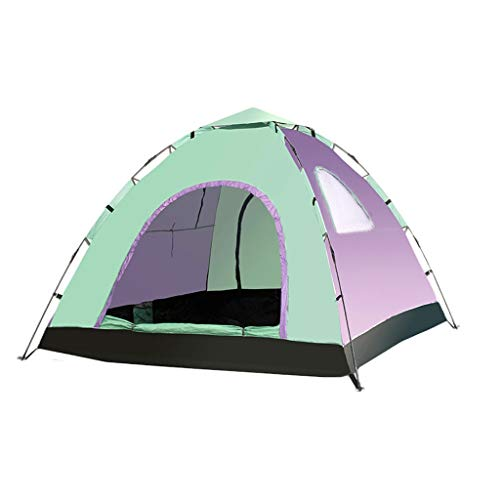 3-4 Persoon Outdoor Camping Tent Automatische Pop Up Tent Familie Waterdicht Anti UV Gemakkelijk Open Kamp Wandelen Tenten Zonneschaduw