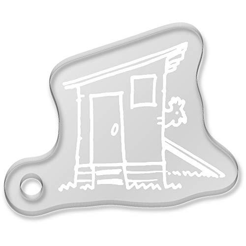 Azeeda 'Poulailler' Porte-clés (AK00053537)