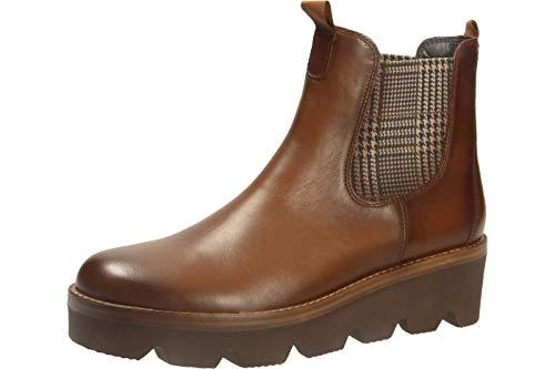 Gabor Damen Chelsea Boots 34.720, Frauen Stiefelette,Stiefel,Halbstiefel,Schlupfstiefel,gefüttert,Winterstiefeletten,Sattel (Effekt),42 EU / 8 UK