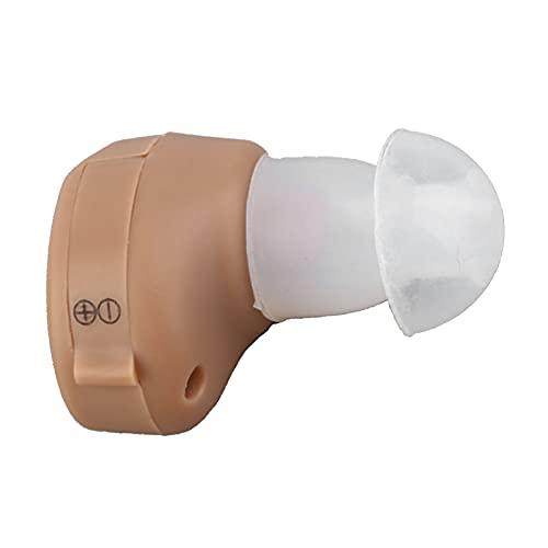 Y-Rachael Amplificador De Sonido Invisible En El Oído Auriculares Auxiliares Invisibles para Los Audífonos Ancianos con Discapacidad Auditiva,1 pcs