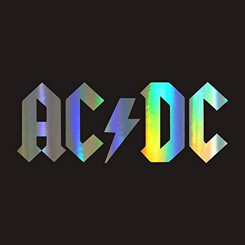 CSCH Car Stickers Funny ACDC Body Sticker 3D Car Cartoon Vinyl Sticker Reflective Car Decal Wholesale Car Styling Accessories Sticker Car Decal Stickers