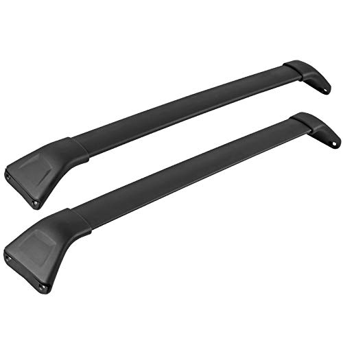 Spec-D Tuning For Mazda CX-5 CX5 Black Aluminum Luggage Cargo Carrier Roof Rack Cross Bars
