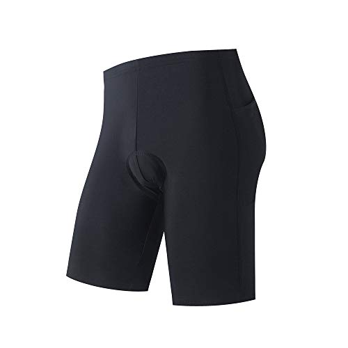 Cycling Shorts for Men 9D Gel Padded Shorts with Pockets on The Side...