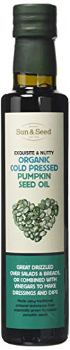 Pumpkin Seed Oil by Sun&Seed | Organic and Cold Pressed | 250ml