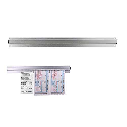 Restaurant Order Grabber, Tab Grabber and Order Holder Aluminium Order Tab Grabbers Folder Wall-Mounted Ticket Rack Holder Hanging Rack for hold orders, tabs or papers securely(35cm).