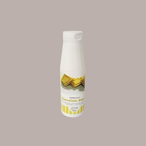 Leagel (900 gr) Preparato Topping al Cioccolato Bianco per Decorare Gelato Yogurt Torte Dolci Pasticceria e Gelateria Guarnizioni