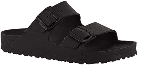 Birkenstock Unisex Arizona Essentials EVA Black Sandals - 8 2A US Women / 6 2A US Men
