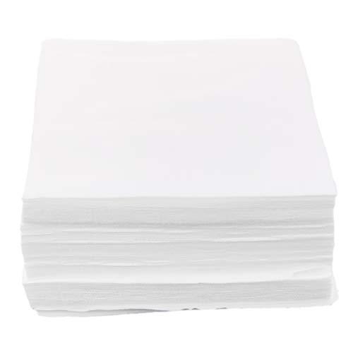 perfk 150pcs Reinraumwischer staubfreies Papier/Tintenstrahldrucker/Düsenpapier Polyesterfaser Reinigungstuch für 3D-Drucker