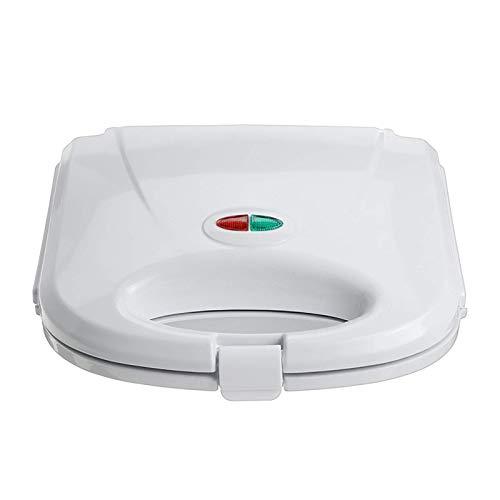 SHDS Sandwichera para Hacer gofres de Relleno Profundo 3 en 1 con Control de Temperatura Revestimiento Antiadherente indicador LED con Mango de Tacto frío (Blanco)