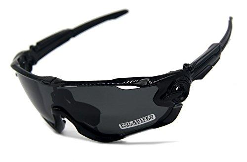 Playbook carretera montaña ciclismo gafas gafas gafas polarizadas ciclismo bicicleta gafas de sol Oculos Gafas Ciclismo 3lentes (negro/negro)