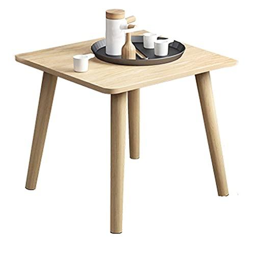 Mesas De Café, Mini Mesa De Tatami, Mesa De Té Para Balcón, Mini Mesa De Desayuno, Escritorio De Lectura, Mesa De Estudio, Mesa Baja Japonesa Para Sentarse, Mesa De Desayuno-Wood Color  60x60x62cm